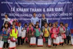 Toyota Việt Nam xây trường học cho trẻ em vùng cao