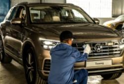 Volkswagen Touareg 2019 bất ngờ có mặt tại Việt Nam
