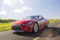 Xe sang thể thao Lexus LC Coupe 2021 mới chính thức lộ diện